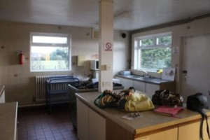 Kitchen at WWMCC as it was